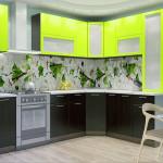 Кухня Валерия-М04 угловая
